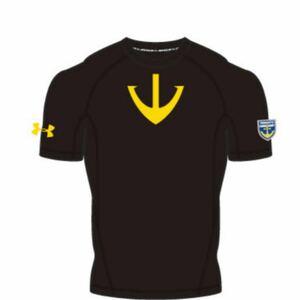 アンダーアーマー UNDER ARMOUR 宇宙戦艦ヤマト コラボ コンプレッションシャツ ★STAR BLAZERS ★ブラック