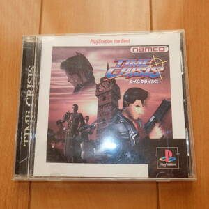 送料無料 NAMCO ナムコ PSソフト タイムクライシス TIME CRISIS PlayStation the Best プレステ プレイステーション PS1 ガンコン対応