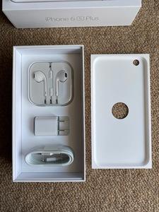 iPhoneの付属品のイヤホン(ジャックタイプ)とUSBライトニングケーブルとUSB電源アダプタの3点 未使用 箱なし