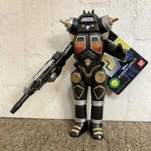 タグ付き新品未使用品 ウルトラ怪獣シリーズEX 宇宙ロボット キングジョーブラック ソフビ