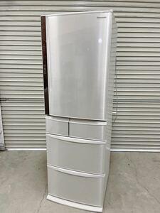 中古 Panasonic パナソニック ノンフロン冷凍冷蔵庫 NR-E431V-N 411L 2016年製 5ドア 右開き 引取歓迎/茨城県常陸大宮市 1024み6 M 家