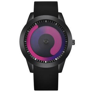 ファッション男性のミニマリストウォッチメッシュバンドステンレス鋼アナログクォーツ腕時計高級シルバー腕時計男性レロジオ Masculino