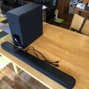 ★ 送料無料 ヤマハ サウンドバー Alexa搭載 HDMI DTS Virtual:X Bluetooth対応 YAS-209(B)