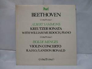 ベートーヴェン:ヴァイオリンソナタ、ヴァイオリン協奏曲 サモンズ マードック メンゲス