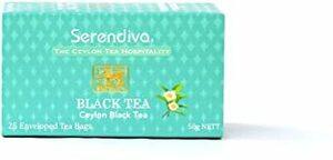 銀座マリオットホテルご愛用!Serendiva セイロン紅茶 アルミ袋個包装25ティーバッグ/ Ceylon Black Tea