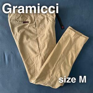 Gramicci グラミチ クライミングパンツ M ベージュ アウトドア ベルト キャンプ 登山 フェス コットンパンツ