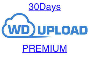 [ Speed correspondence!]WDUPLOAD premium 30 days [5 minute ~24 hour within correspondence ] support does!