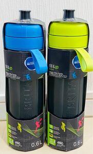 ブリタ水筒 浄水ボトル フィルター2個  fill&go Active 当日発送