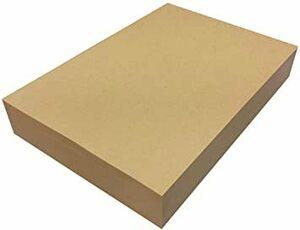 ブラウン 500枚 ペーパーエントランス クラフト紙 A4 75.5kg 500枚 プリンター用紙 包装紙 ラッピング ブック