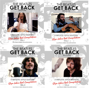 THE BEATLES / GET BACK SESSIONS : COMPLETE APPLE MASTERS =GLYN JOHNS REEL COMPILATION= MULTITRACK STEREO REMASTER EDITION
