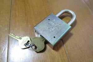 ★☆米軍放出品 AMERICAN Lock 南京錠 鍵 官給品 -1685☆★