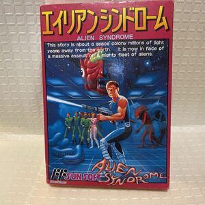 新品未開封 エイリアンシンドローム ファミコン FC NES ALIEN SYNDROME) 任天堂 Nintendo ファミリーコンピュータ ファミコンソフト