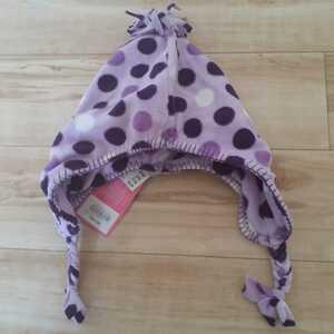 新品女の子帽子ふわふわ暖かい素材2~8歳