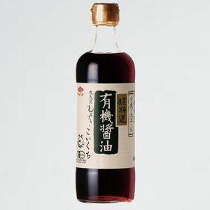 未使用 新品 有機醤油こいくち チョ-コ- S-4A 500ml 瓶