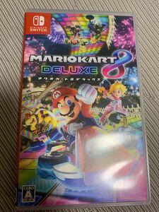 スーパーマリオカート8 デラックス 任天堂スイッチソフト 中古  Nintendo Switch