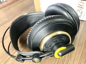 AKG K240 studio ヘッドフォン