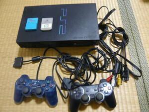 ★動作確認済 PS2本体(SCPH-50000)、メモリーカード、ソフト付き★