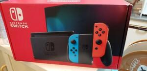 ネオンレッド Nintendo Switch ネオンブルー ニンテンドースイッチ本体