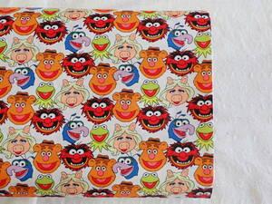 USA コットン Muppets マペッツ 白 45cm