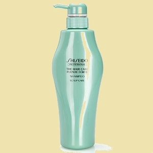 stock remainder after barely fender te Forte Shiseido Professional A-ZI shampoo 500ml