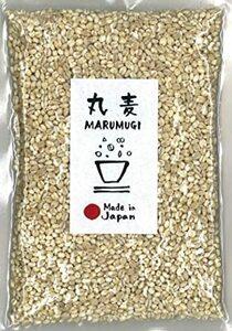 縦×横×幅(cm):23×18×4 丸麦 1kg 国産 雑穀 [はだか麦]