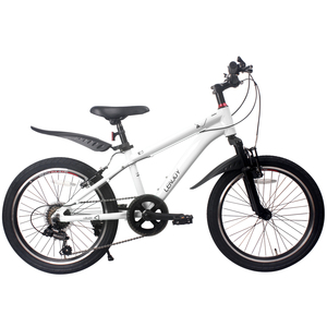 Some regional shipping! Lightweight crossbike suspension with children's bicycle kids bike [LS20-8S] <White>