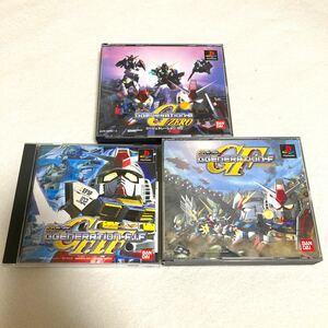 PlayStationソフト SDガンダムGGENERATION3作品[ZERO・F・F.I.F ] セット