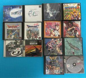 【 14本セット・動作確認済】PlayStation プレイステーション PSソフト プレステソフト ソフト