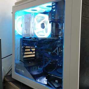 自作PC Xeon E5-1660 32GB RX570 8GB ゲーミングPC Windows10 SSD USB3.0