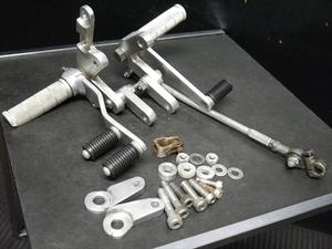 モンキーR AB22より 社外 ワンオフ BEET バックステップASSY ペダル リンク付き NSR50 エイプ DAX ヨシムラ OVER