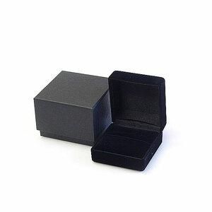 リング 指輪 プレゼント 高級 ジュエリー ケース アクセサリー ボックス ブラック ハンドメイド 収納 箱 BOX ギフト 贈り物 プロポーズ