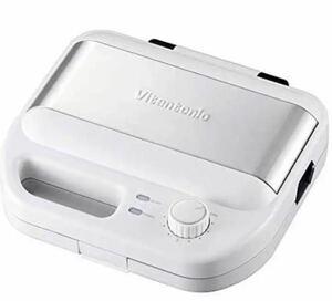 新品★ ワッフル&ホットサンドベーカー ビタントニオ VWH-500 ホワイト