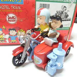 L.G.B スヌーピー バイク MODEL TRAIN Gゲージ