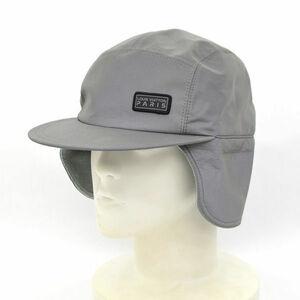 ★ ルイヴィトン LVスペース ミッション キャップ 帽子 シルバー 防寒 (0220372259)