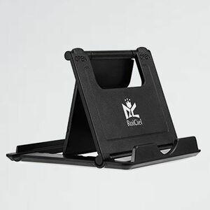 新品 目玉 スマホ&タブレット用 RoiCiel 2-DC 折りたたみ式&角度調整可能軽量スタンド