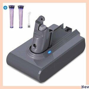 【期間限定】 BS 掃除機交換用バッテリー 互換用ダイソン掃除機バッテリーV6 回路搭載 大容量 フィルター2本 3500mA 1