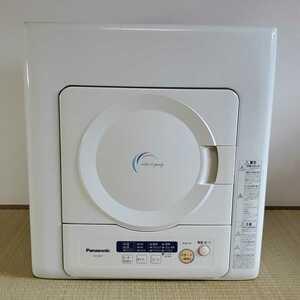 Panasonic パナソニック 除湿形 電気衣類乾燥機 NH-D402P 動作確認済み ホワイト 4.0kg タイマーコース付き クリーニング済み 手渡し可能