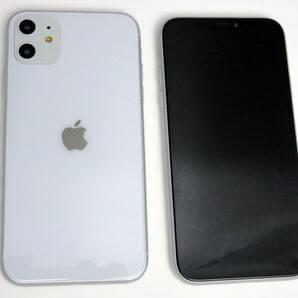 《送料無料》 iPhone 11 ホワイト 模型 展示用 スマホモックアップ モック モックアップ サンプル