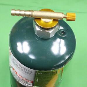 【送料無料】USプロパン ボンベ口金 OD缶口金 US変換アダプター OD缶変換アダプタ& レギュレーター セット
