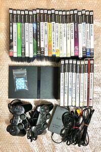 【動作確認済】PS2本体 薄型SCPH-75000 すぐ遊べるお得セット