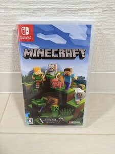 【新品未開封】Minecraft マインクラフト Nintendo Switch