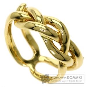 TIFFANY&Co. ティファニー デザインリング リング・指輪 K18イエローゴールド レディース 中古