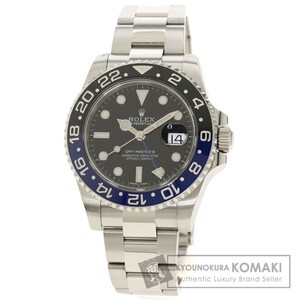 ROLEX ロレックス 116710BLNR GMTマスター2 腕時計 ステンレススチール SS メンズ 中古