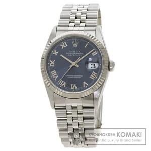 ROLEX ロレックス 16234 デイトジャスト 腕時計 ステンレススチール SS K18WG メンズ 中古
