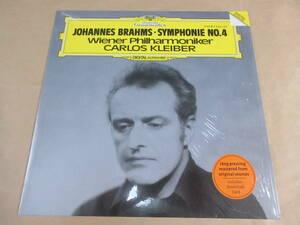 LP ブラームス:交響曲第4番 / カルロス・クライバー指揮 ウイーン・フィルハーモニー管弦楽団 重量盤