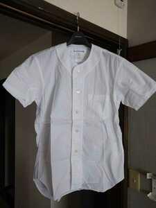 COMME des GARCONS shirts コムデギャルソンシャツ ベースボールシャツ 半袖シャツ サイズXS