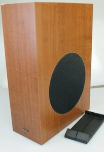 DENON super woofer DSW-M380 operation OK stand attaching scratch equipped