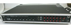 (( one months guarantee )) TASCAM[US-1800]16IN/USB2.0 audio interface drum recording etc. hard case attaching operation OK