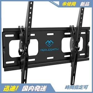 03 新品 液晶テレビ用 LED ティルト±10度 LCD 耐荷重60kg 未使用 VESA400x400mm 26-55インチ対応 テレビ壁掛け金具 (ブラック) PERLESMITH