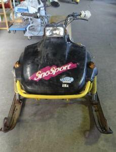 ○[直接引取限定] ヤマハ SV125 スノーモービル ウィンカー ブレーキランプ付き ジャンク